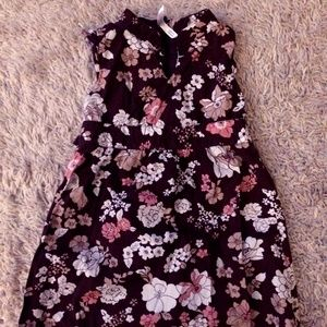 2T Old Navy Floral Print Dress with Tiebacks